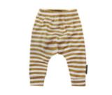 Broekje stripes ochre baggy_