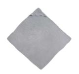 Jollein badcape en hydrofieldoek grijs _
