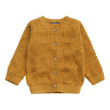 Your Wishes ochre knit vest _