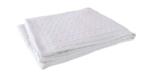 Jollein deken wit gebreid _