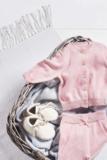 Jollein broekje knit roze _