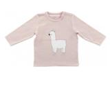 Jollein lama shirtje roze_