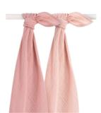Jollein Hydrofieldoeken multipack 2 roze large_