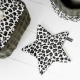 Your Wishes speendoekje ster dubbelzijdig leopard camo _