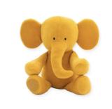 Jollein knuffel olifantje velvet ochre geel_