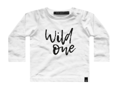 WILD ONE off white t-shirt