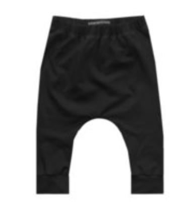 Solid Baggy broekje zwart