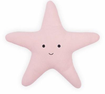 Jollein knuffelkussen zeester Tiny soft pink