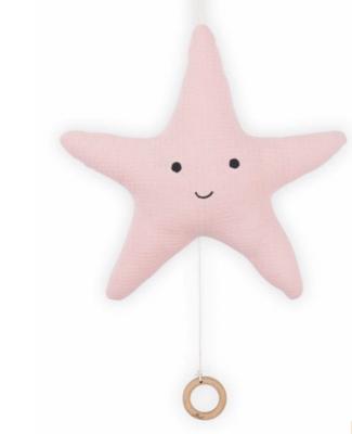 Jollein muziekdoos zeester Tiny roze