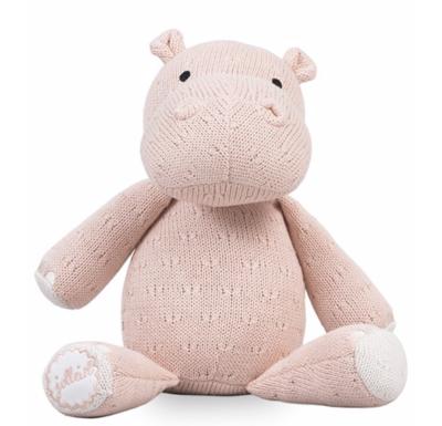 Jollein knuffel hippo roze