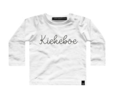 Your Wishes Kiekeboe shirt off-white