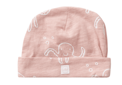 Jollein octopus mutsje roze