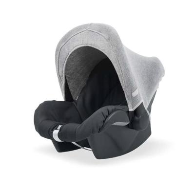Jollein zonnekapje knit grey