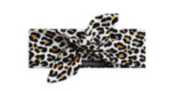 Haarbandje leopard mango