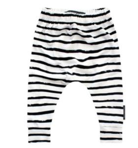 Broekje stripes off - white