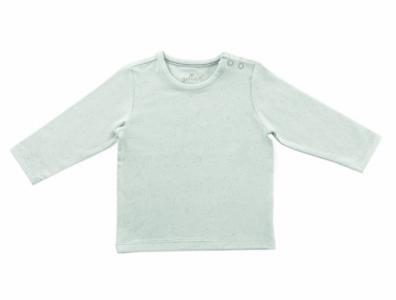 Jollein Shirt mini dots stone green