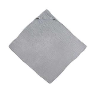 Jollein badcape en hydrofieldoek grijs