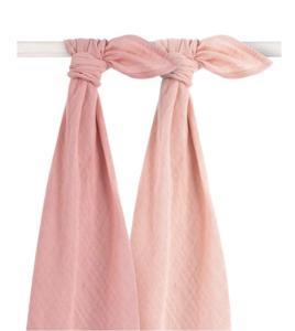 Jollein Hydrofieldoeken multipack 2 roze large