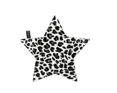 Your Wishes speendoekje ster dubbelzijdig leopard camo