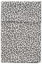 Cotton Baby wieglaken panter grijs