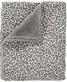 Cotton Baby wiegdeken panter grijs