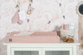Jollein aankleedkussenhoes gebreid roze