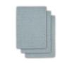Jollein washandjes dots blauw (3 pack)
