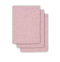 Jollein washandjes dots roze (3 pack)