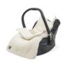 Comfortbag teddy creme wit