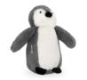 Jollein knuffel pinguïn grijs
